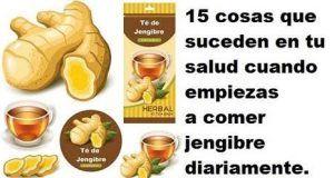 15 Beneficios del jengibre para tu salud cuando comienzas a comerlo a diario