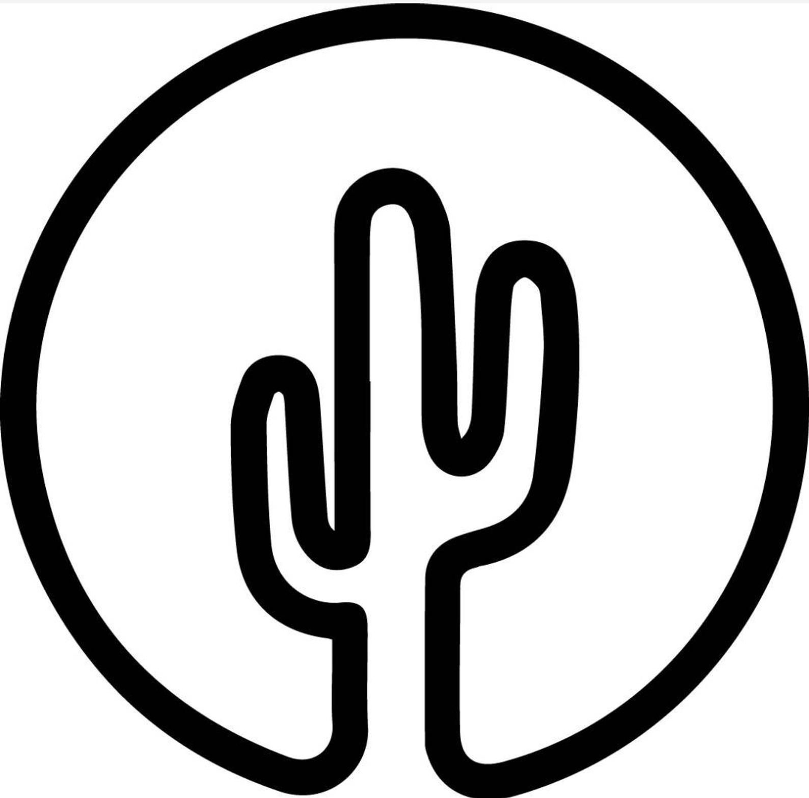 Giant Saguaro Cactus Desert Graphic Decal Sticker Car Vinyl