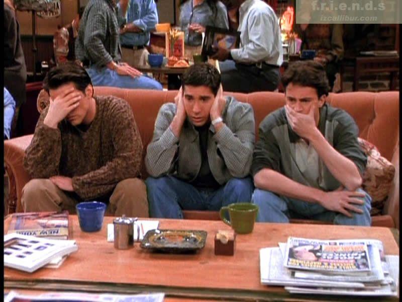 The Men Of Friends Friends Trivia Friends Tv Show Friends Tv