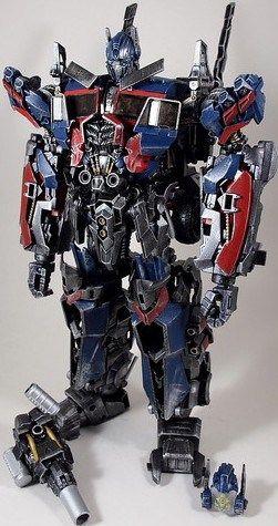 transformers dotm ultimate optimus prime custom