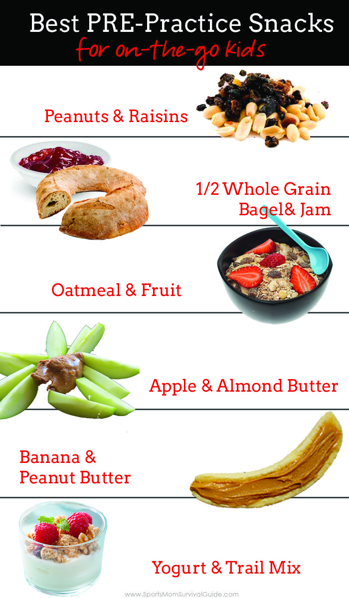 Best Pre-Practice Snacks for Kids