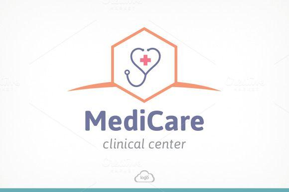 Medic Care Logo Template by Logo Heaven on Creative Market