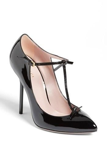 Gucci T-strap pumps