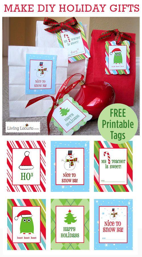 Free printable christmas gift tags perfect for diy gifts free printable christmas gift tags perfect for diy gifts livinglocurto negle Choice Image