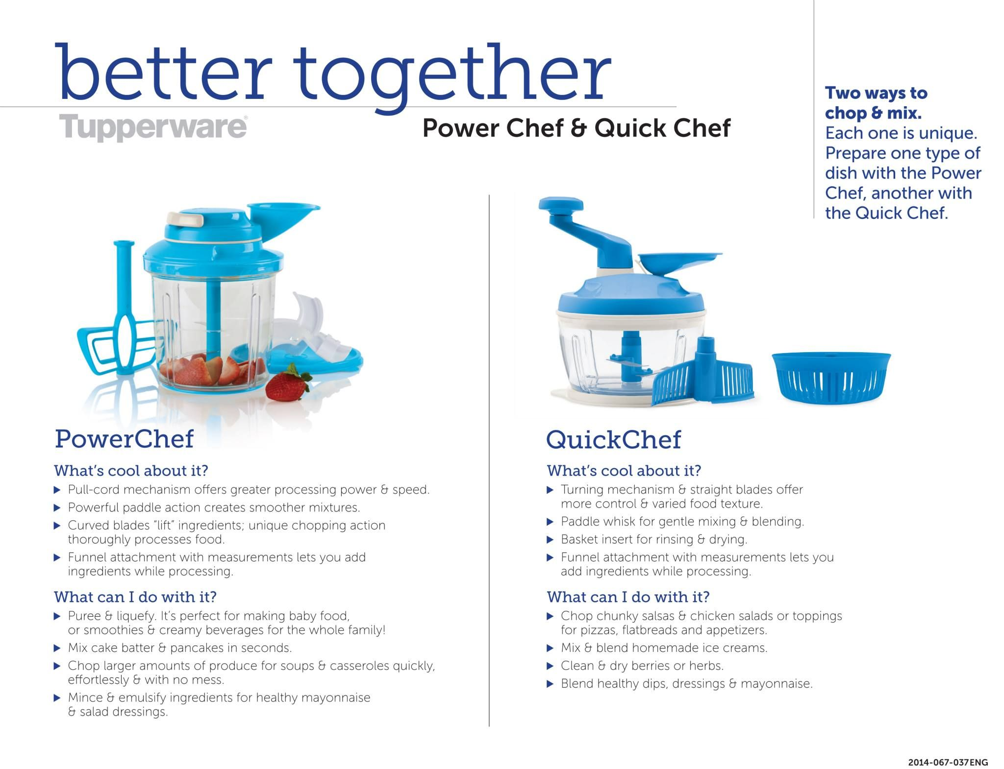 Verwonderend Pin by Candy Slabaugh on Tupperware Power Chef & Quick Chef GG-92