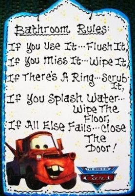 Electronics Cars Fashion Collectibles Coupons And More Ebay Bathroom Rules Disney Bathroom Sign Quotes