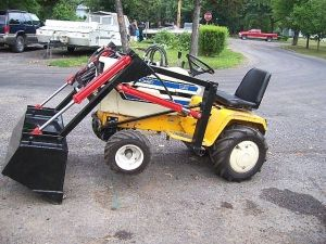 Cub Cadet 1450 garden tractor loader1 projects Pinterest