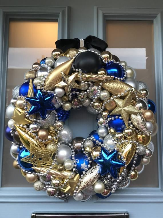 Bauble wreath - Celestial