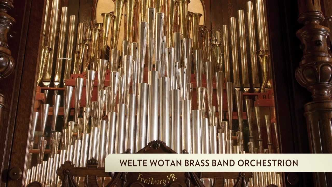 1913 Welte Wotan Brass Band Orchestrion | Organ-ic Panic