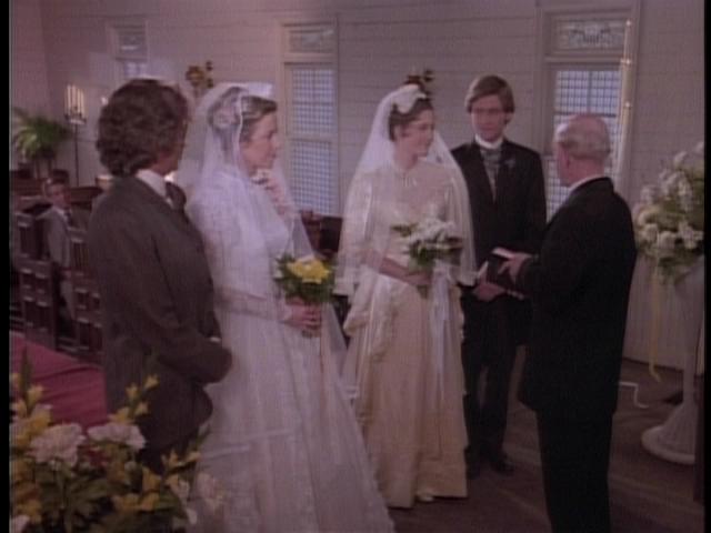 Little house on the prairie charles and caroline renew for Laura ingalls wilder wedding dress