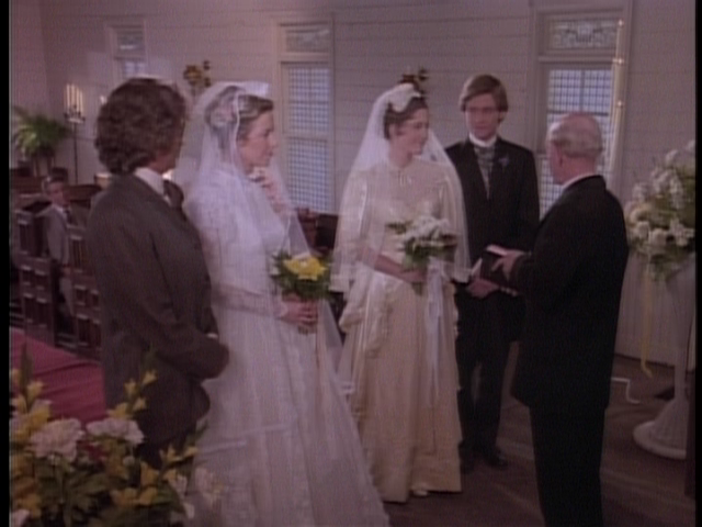 Little House On The Prairie Charles And Caroline Renew Their Vows A Double Wedding Ceremony