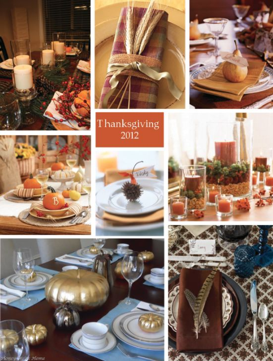 Festive, earthy, and Easy Thanksgiving table decor ideas from