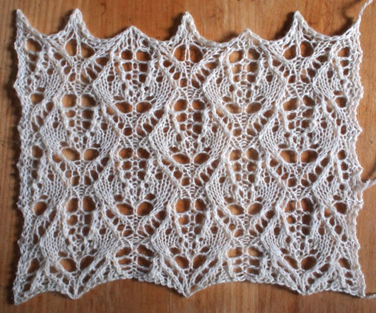 Heatwave A Free Lace Knitting Stitch Pattern Knitting Stitch