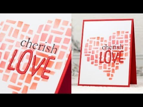 A video by Shari Carroll for the Simon Says Stamp 2013 Valentine's Blog Hop with new SSS Exclusives!
