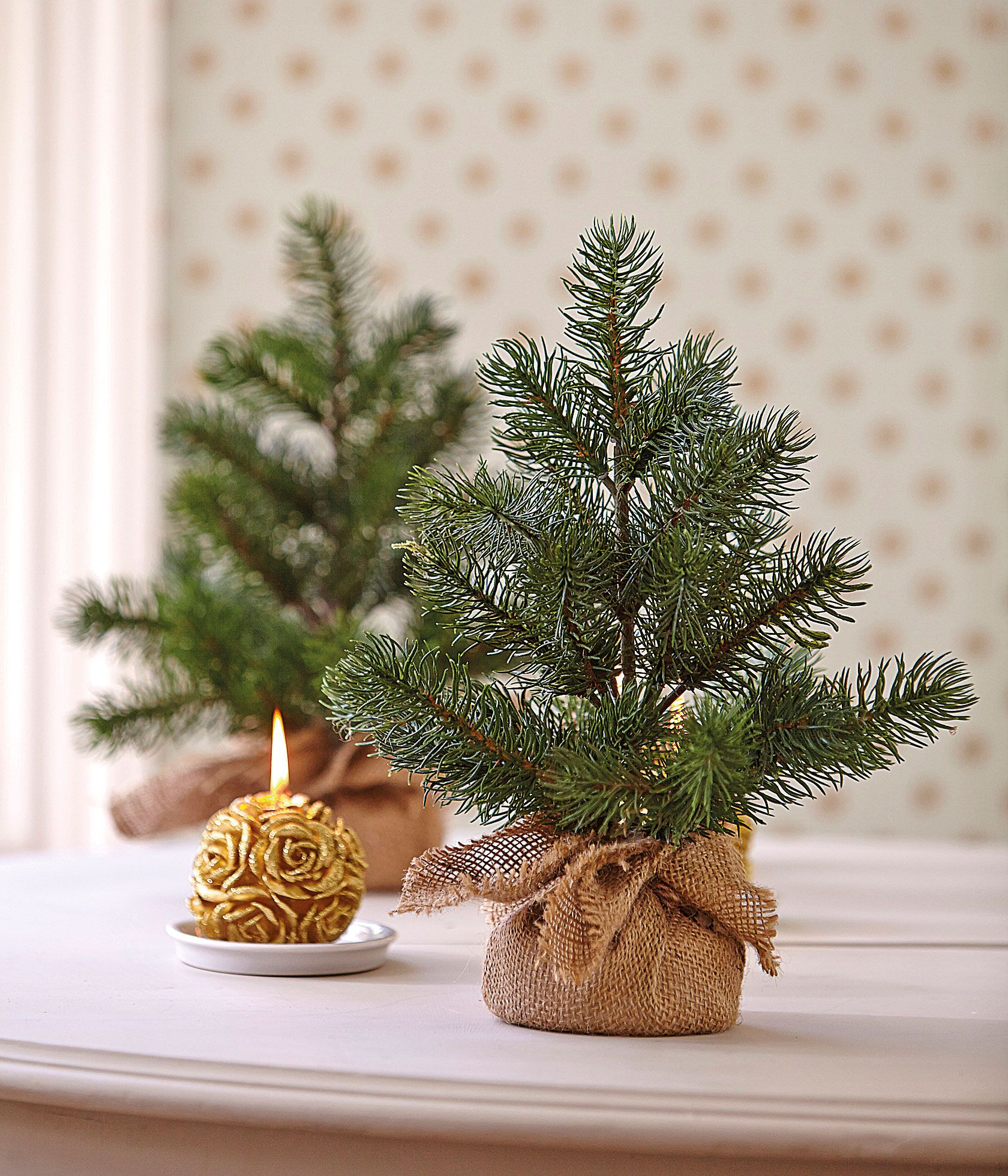 Perfectly Formed Mini Artificial Christmas Trees