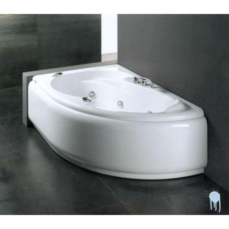 Glass - vasca da bagno lis 150 x 100 vasca con telaio nel ...