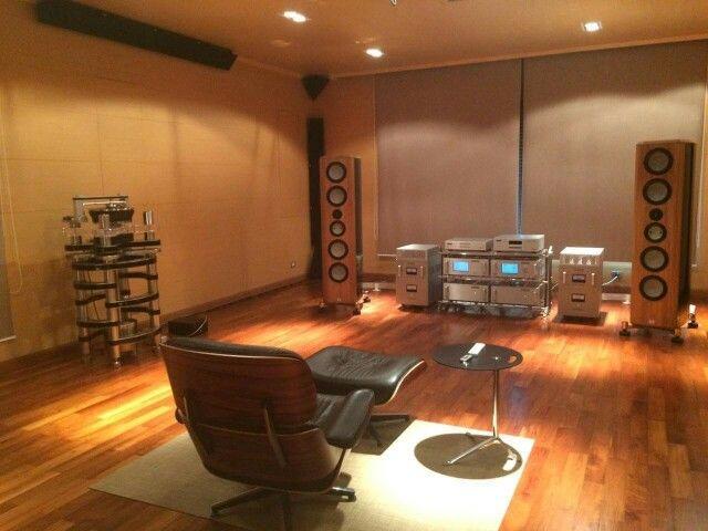 Marten speakers & Audio Research electronics