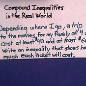 Compound Inequalities In The Real World Compound Inequalities Compound Inequalities Activities Inequality