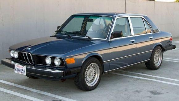 Front panel BMW 528i Sedan North America (E12) &#39-1978-81