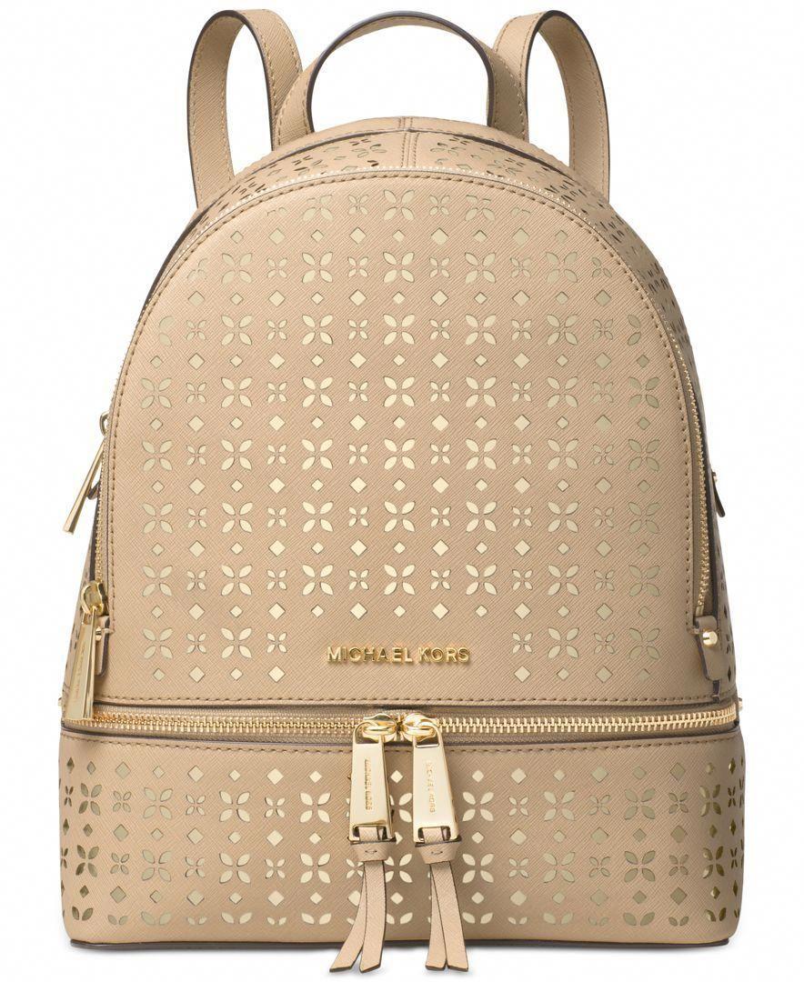 6112d9b90188 Michael Michael Kors Rhea Zip Medium Backpack  Designerhandbags ...