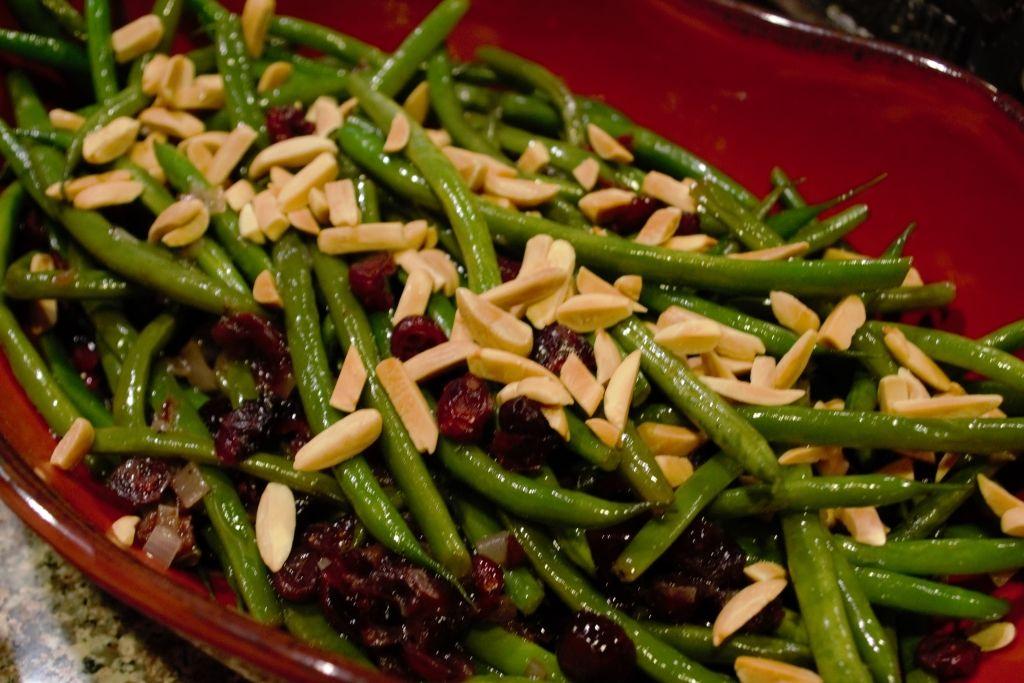 green-beans-almondine | Green beans side dish, Green beans ...