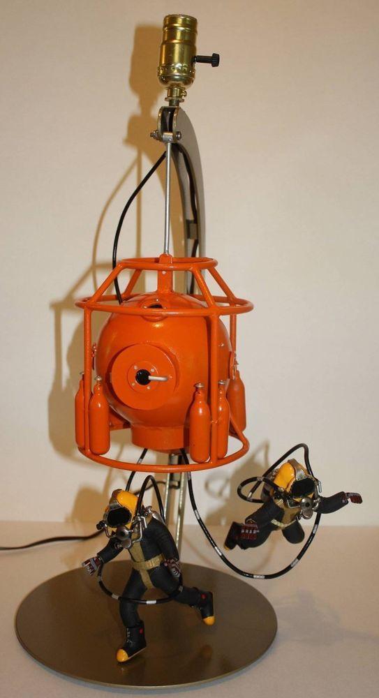 Commercial Diving Helmet Lamp   diving   Pinterest ...