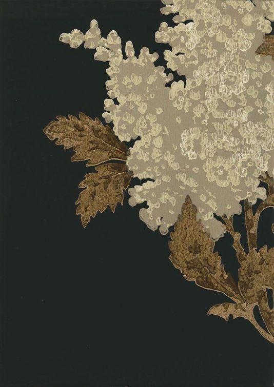 Lomasi Wallpaper Black Floral Wallpaper Black And Cream Wallpaper Black Wallpaper Black and cream floral wallpaper