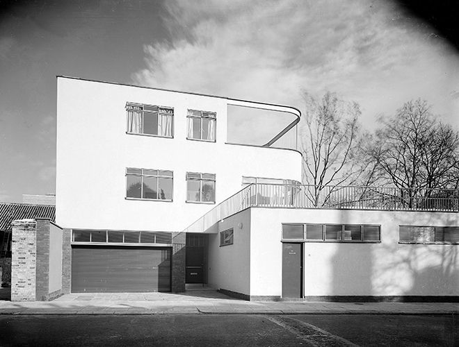 Modern Architecture London England 66 old church street, london, 1936. © architectural press archive