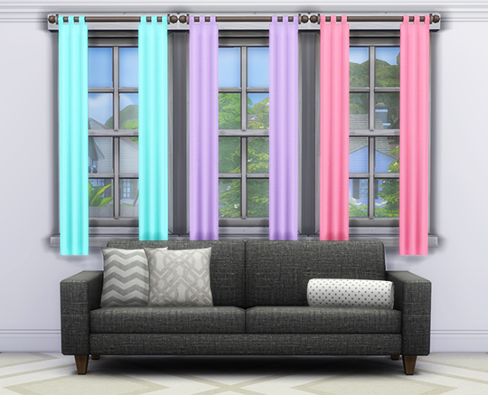 Mayu Online Part 3 Of Base Game Curtains Recolors In WMS