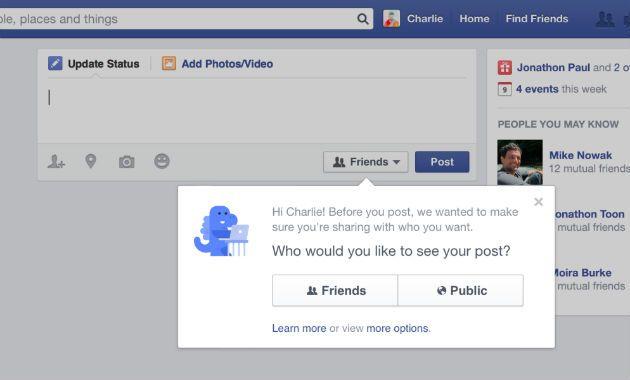 Facebook Anuncia Novo Sistema De Controle Da Privacidade Sistema