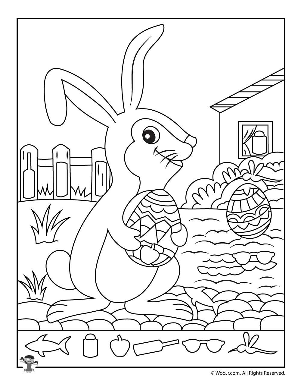 Easter Hidden Pictures Printable Activity Pages | Decoración de ...