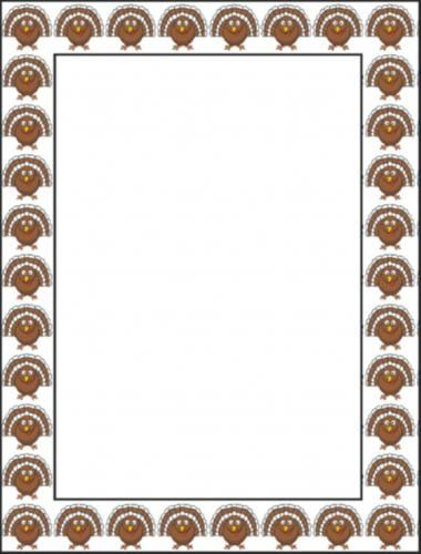 Free Thanksgiving Borders and Frames 3 - Free Clipart   Arts and ...