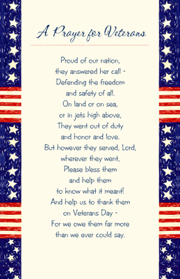 Image result for veterans day prayer images