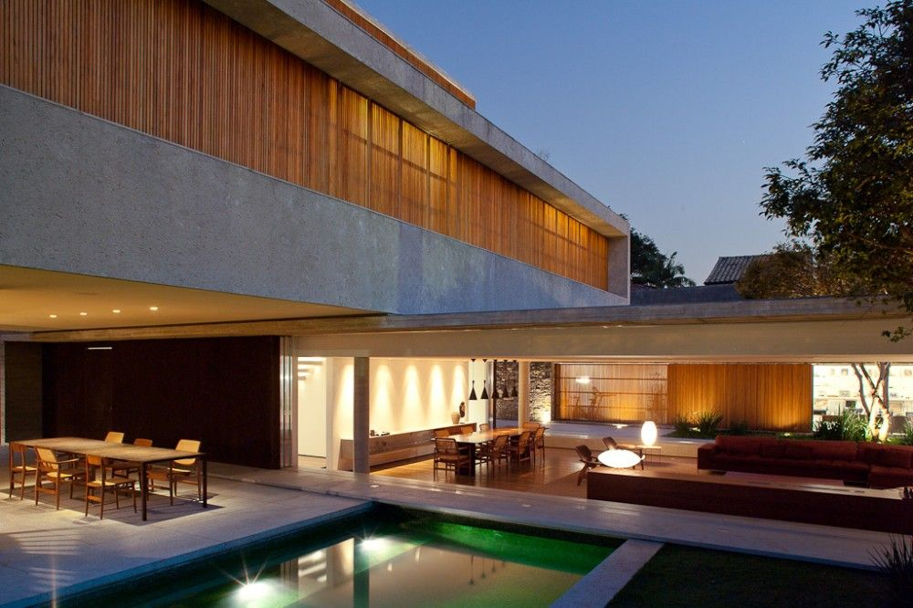 Haus 53 Marcio Kogan hervorragende Architektur
