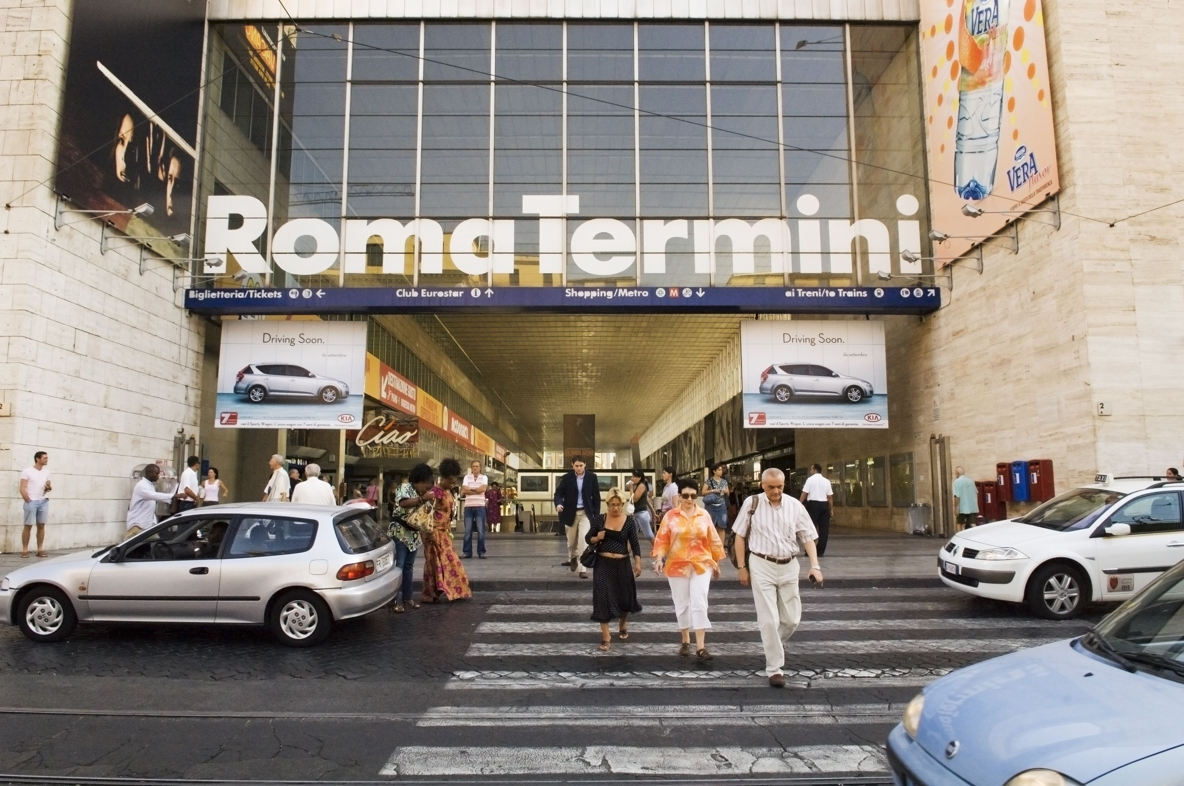 How To Get From Fco Airport To Termini Station
