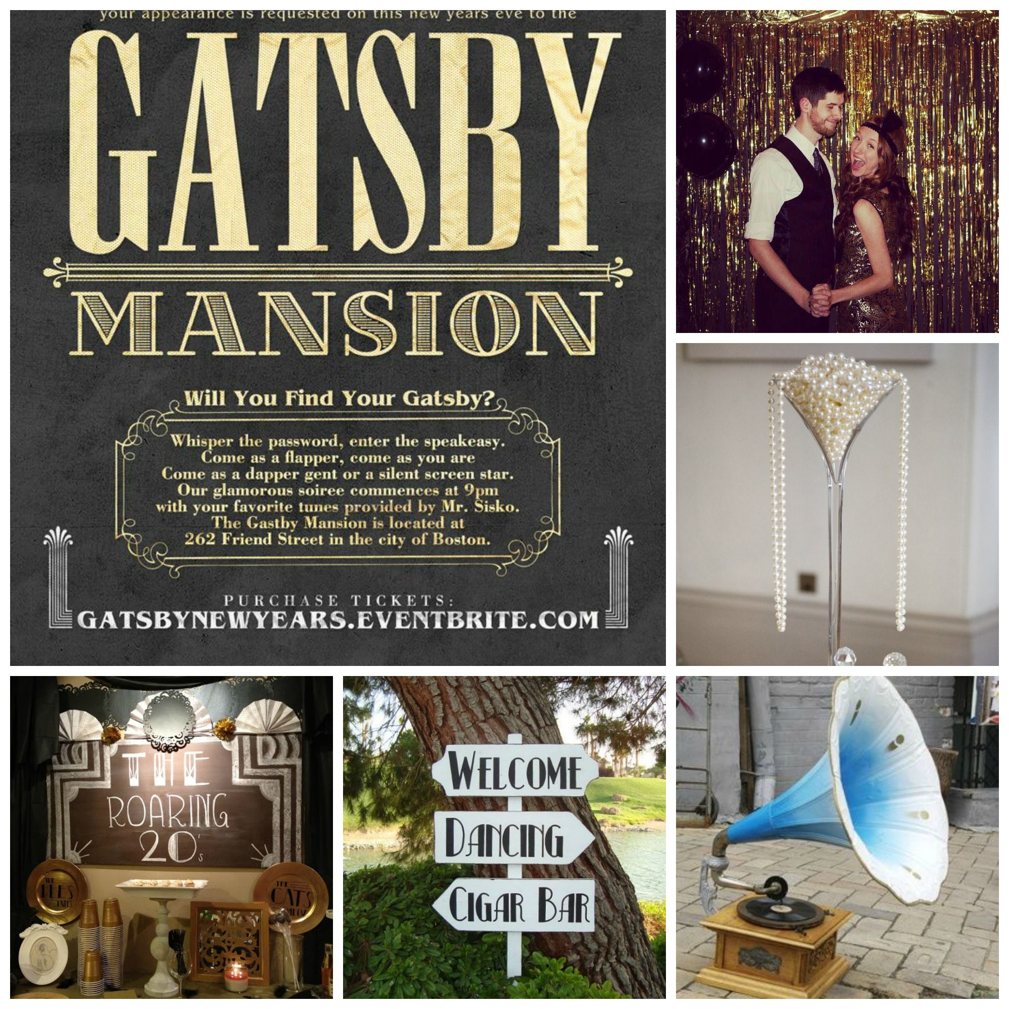 10 Fun Ideas For Your Engagement Party Engagement Party 1920s Party Theme Great Gatsby Party