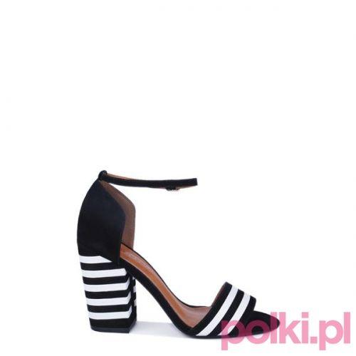 Bialo Czarne Sandaly Na Slupku Gino Rossi Cena Ok 529 Zl Shoes Spring Summer Heels Heels Sale