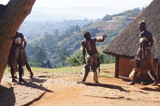 South Africa. Zulu Village, Valley of a Thousand Hills