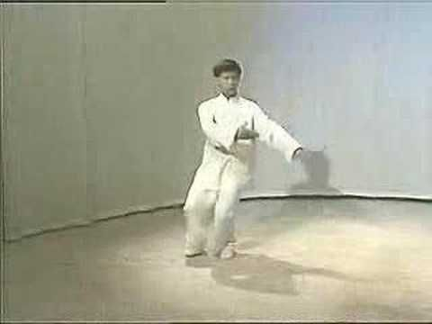 Yang Taiji, Master Yang Jun, 3 part, 02, 103 form - YouTube
