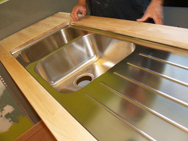 Boholmen Undermount Resurfacing Kitchen Cabinets Butcher Block