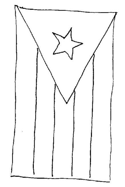 Puerto Rico Coloring Sheets Flag Coloring Pages Puerto Rico