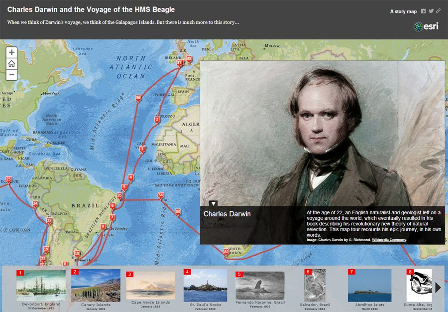 Beyond The Galapagos Charles Darwin Voyages Of The Hms Beagle