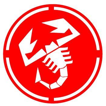 abarth red logo abarth 595 pinterest wappen sternzeichen und autos. Black Bedroom Furniture Sets. Home Design Ideas