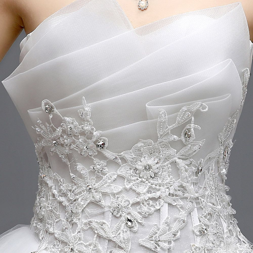 Find more information about tube top slim plus size bride
