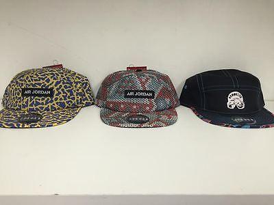 952148c76 ... uk jordan laney spizike 5 panel hats 3m retro auction is for all 3 jordan  hats