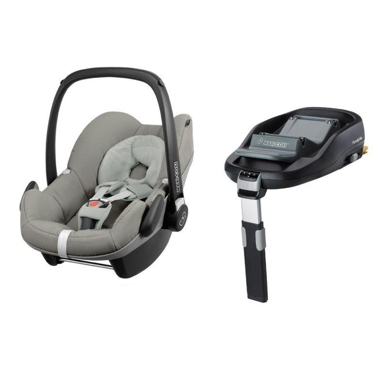 Maxi Cosi Pebble Family Fix Bundle Grey Gravel New 2015 Car Seats Maxi Cosi Baby Car Seats