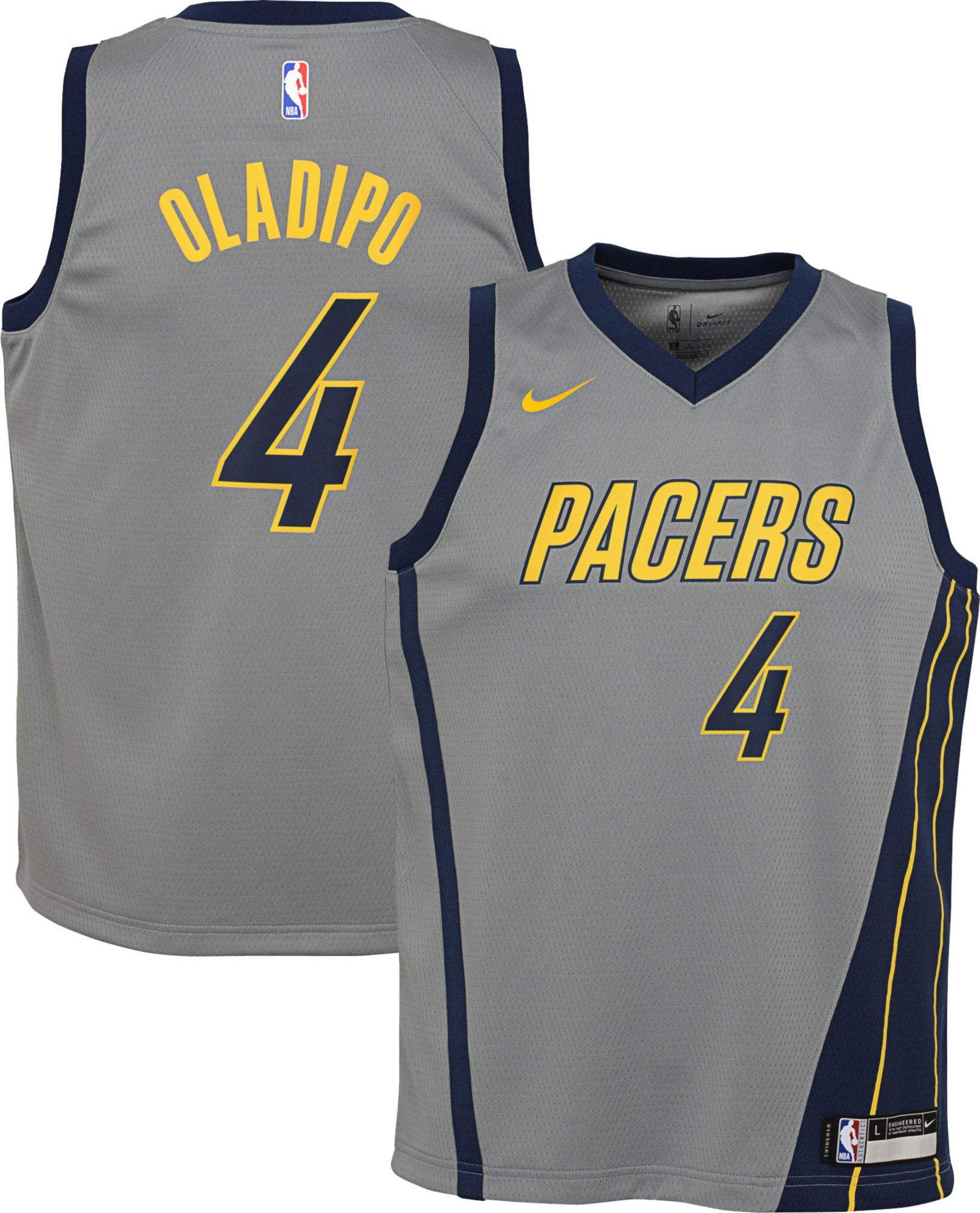 sports shoes f039a a0fcc Nike Youth Indiana Pacers Victor Oladipo Dri-FIT City ...