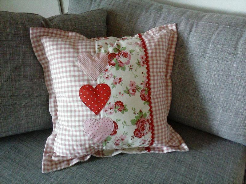 Kissenbezug+Landhausstil … | Pillows - párnák | Kisse…