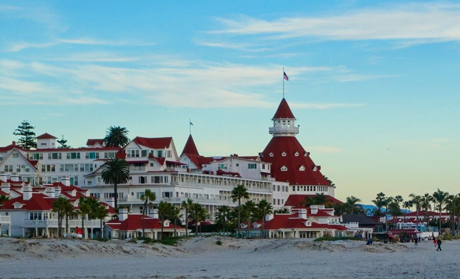 Coronado Island San Go And California Usa Hotel Ca