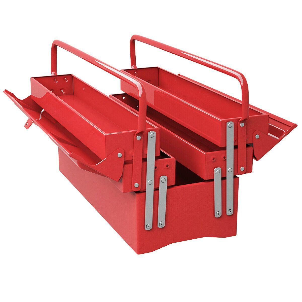 20 Draagbare 5 Laden Monteur Garage Stalen Cantilever Tool Box Monteur Staal